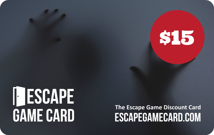 Escape Game Discount Card
